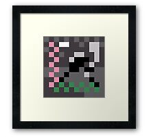 Album Artifact - Lo-res Calling Framed Print