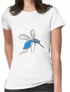 Mücke stechen comic witzig sonnenbrille  Womens Fitted T-Shirt