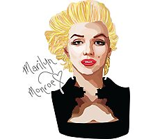 Marilyn Monroe is the New Black Photographic Print