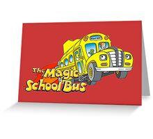 the magic school bus Greeting Card