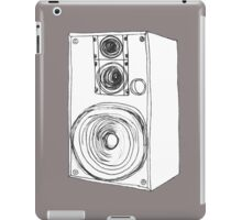 Classic 80s Analog Stereo Speaker  iPad Case/Skin