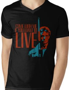 Kyle Reese Mens V-Neck T-Shirt