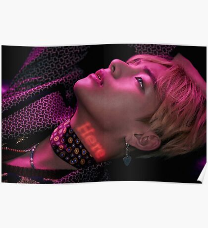 V BTS wings Poster