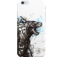 Godzilla Sumi style iPhone Case/Skin