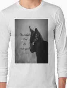 Feline Leonardo da Vinci Long Sleeve T-Shirt