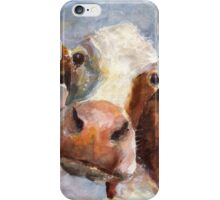 Melancholy Cow iPhone Case/Skin