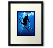 SKI~ Framed Print