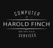 Person of Interest - Harold Finch Computer Services by CyberWingman