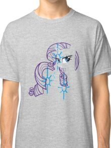 Rarity and Cutie Mark Classic T-Shirt