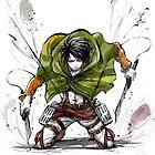 Levi from Shingeki no Kyojin by Mycks