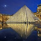 The Glass Pyramid of the Louvre by Hercules Milas