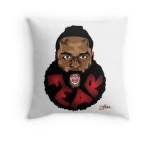 FEAR DA BEARD Throw Pillow