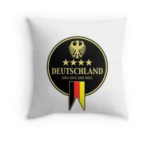 Deutschland Champions Throw Pillow