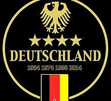 Deutschland Champions by Calum Margetts Illustration