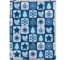 Blue Christmas iPad Case/Skin
