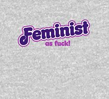 Feminist as FUCK Womens Fitted T-Shirt