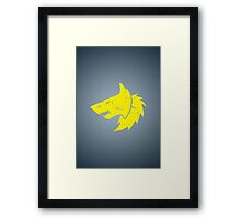 Space Wolves - Sigil - Warhammer Framed Print