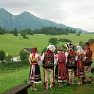 Slovakian tradional costums by Arie Koene