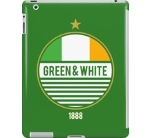 Glasgow's Green & White iPad Case/Skin