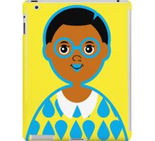 Girl 3 - Goggles and Raindrops iPad Case/Skin