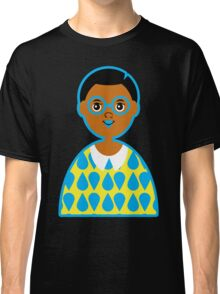 Girl 3 - Goggles and Raindrops Classic T-Shirt