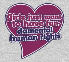 Girls just wanna have fundamental human rights  by Boogiemonst