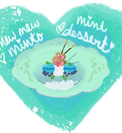 Tokyo Mew Mew Minto Inspired Dessert Sticker