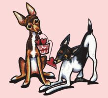 Rat Terrier Sweethearts Kids Clothes