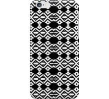 Arrows and Diamond Black and White Pattern 2 iPhone Case/Skin