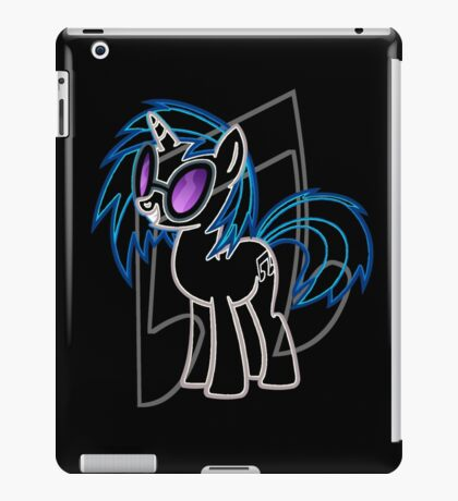 DJ Pon 3 and Cutie Mark iPad Case/Skin