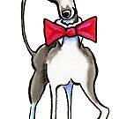 Italian Greyhound Antonio by offleashart