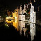 Bruges, Belgium by Ludwig Wagner