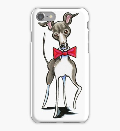 Italian Greyhound Antonio iPhone Case/Skin