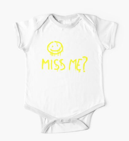 Miss me? One Piece - Short Sleeve