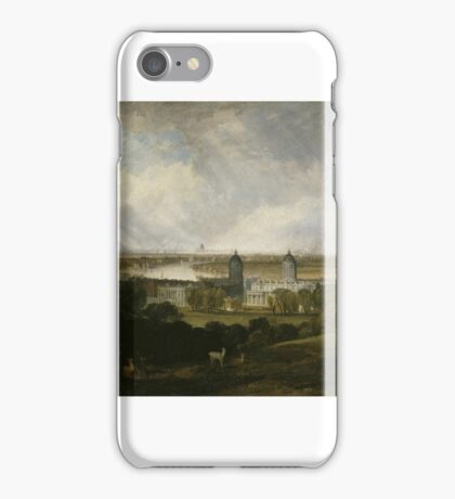 Joseph Mallord William Turner    London from Greenwich Park iPhone Case/Skin