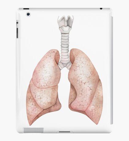 Watercolor lungs iPad Case/Skin
