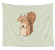 Sarah the Squirrel Wall Tapestry