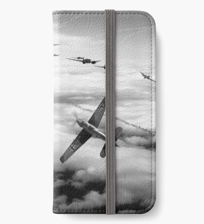 Thrust and Parry - BW iPhone Wallet/Case/Skin