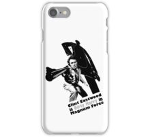 CLINT EASTWOOD DIRTY HARRY COOL IPHONE CASE iPhone Case/Skin