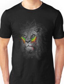 Lion of Judah Rasta Reggae Music Design Unisex T-Shirt