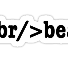 breakbeat HTML Sticker
