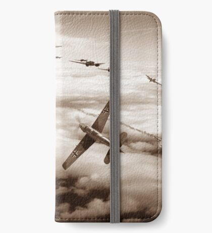 Thrust and Parry - Sepia iPhone Wallet/Case/Skin