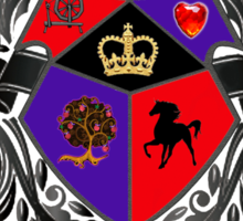 Evil Queen - House Mills Sticker