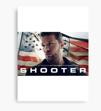 Shooter TV Show/Series Canvas Print