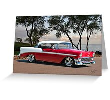 1956 Chevrolet Bel Air Hardtop II Greeting Card