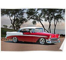 1956 Chevrolet Bel Air Hardtop II Poster