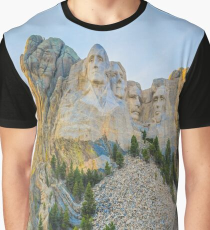 Up On The Hill Graphic T-Shirt