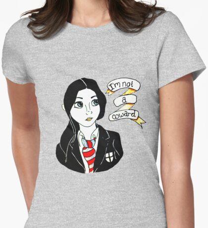 Jem Walker - I'm Not A Coward Womens Fitted T-Shirt