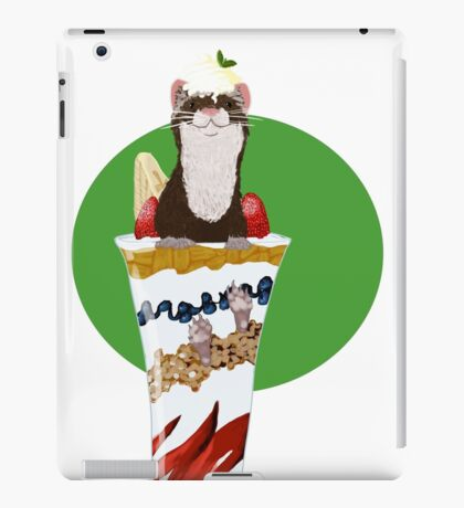 Ferret Parfait iPad Case/Skin