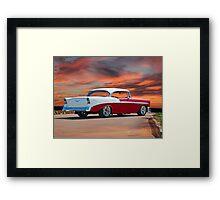 1956 Chevrolet Bel Air Hardtop I Framed Print